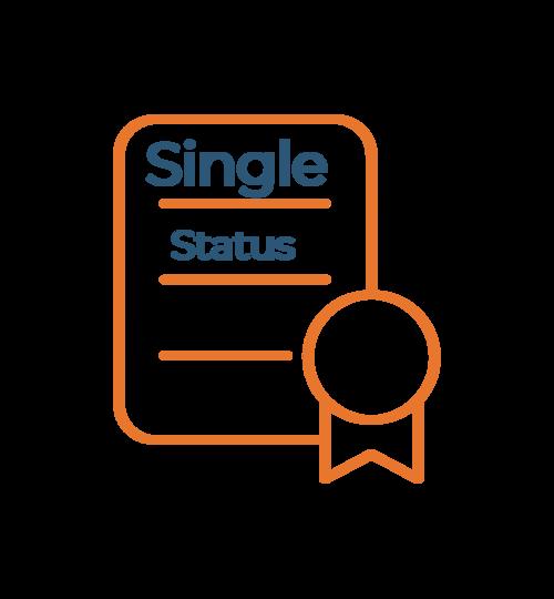 Single Status Certificate Translation Brisbane